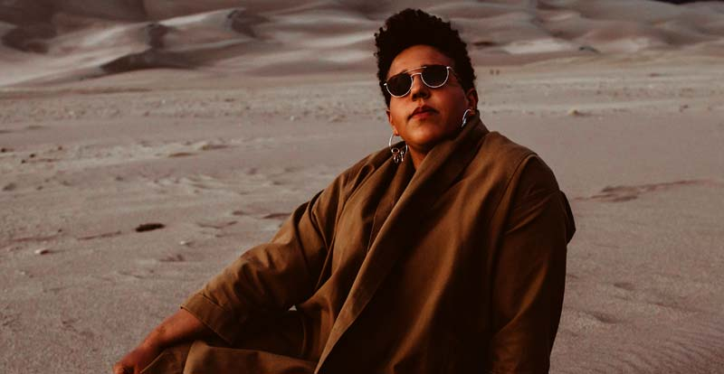 Brittany Howard of Alabama Shakes doing the solo thing