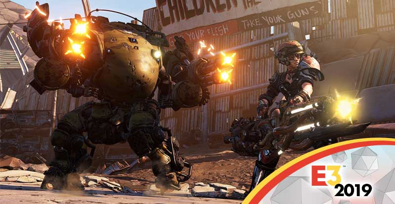 Battling with Borderlands 3 at E3