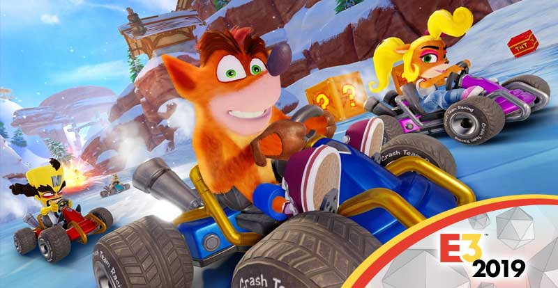 E3 2019 – Crash Team Racing interview