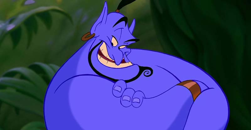 Robin Williams as Aladdin's Genie – the outtakes!