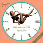 Kylie Minogue Step Back In Time album cover