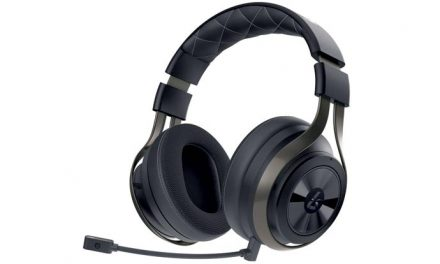 Playing with LucidSound's LS41 gaming headset
