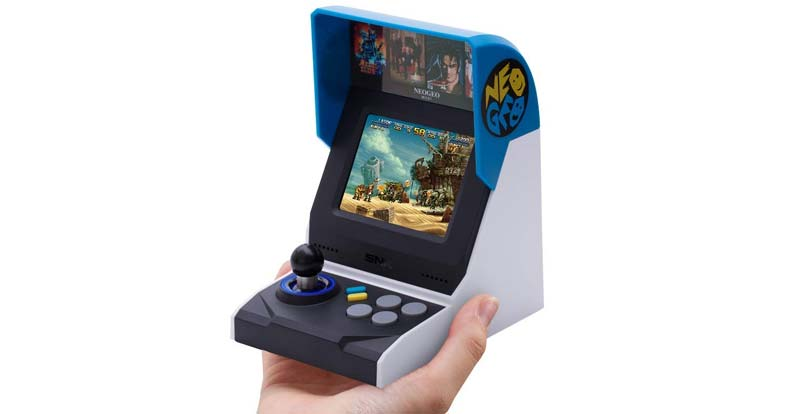 Playing with the NeoGeo Mini