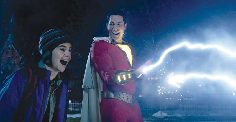 Shazam! on DVD, Blu-ray & 4K July 17
