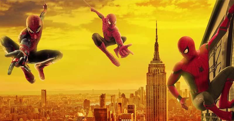 Spider-Man – the triple threat!