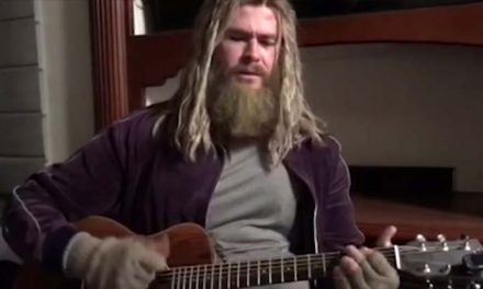 See Chris Hemsworth's Thor singing 'Hurt'
