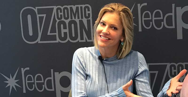 Interview with Tricia Helfer – Battlestar Galactica
