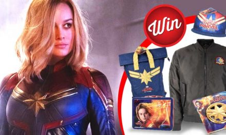 Win one of five marvellous Captain Marvel bundles