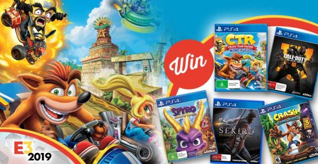 Win a huge Activision PS4 games bundle!