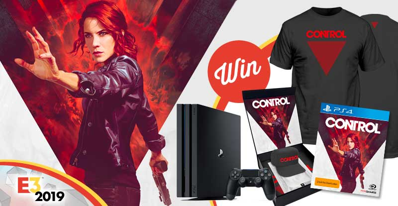 Score an epic E3 Control gaming prize-pack with PS4 console