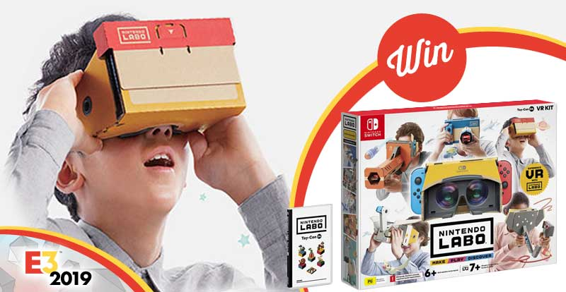 Win a Nintendo Labo VR Kit