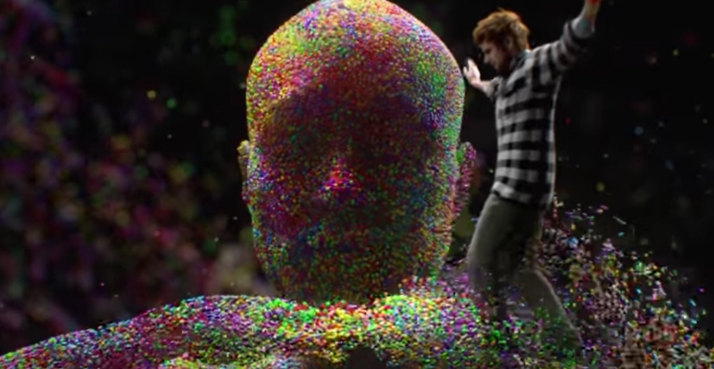 Ed Sheeran's new clip features next level VFX