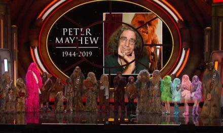 Conan's 21 Wookie salute to Peter Mayhew