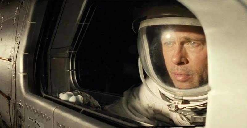 Watch this space! Brad Pitt in Ad Astra