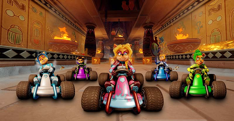 GP crashes Crash Team Racing Nitro-Fueled