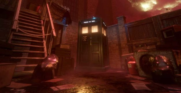Check out Doctor Who: The Edge of Time on PS VR