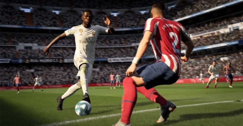 Having a ball with FIFA 20 gameplay