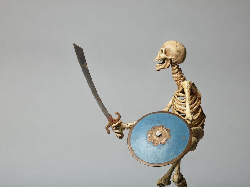 Fighting Skeleton