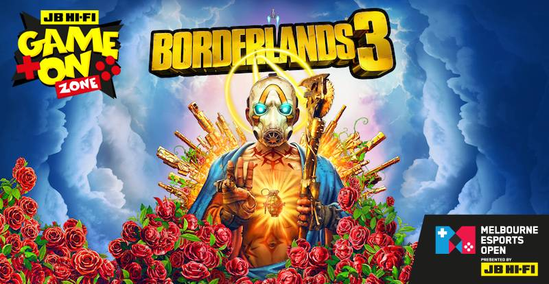 Be the first to play Borderlands 3 at the MEO!