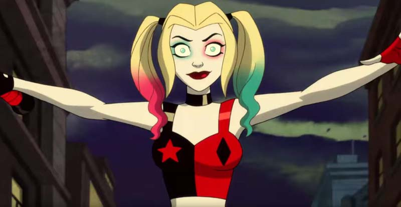 Harley Quinn gets AO animated
