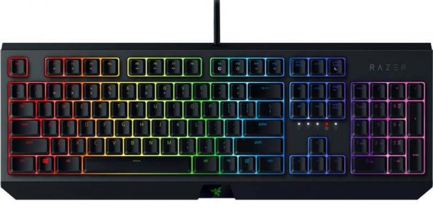 Playing with Razer's BlackWidow gaming keyboard