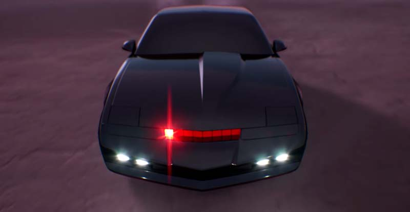 KITT out Rocket League with Knight Rider!