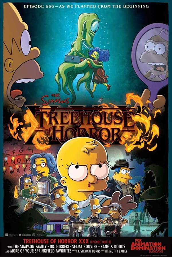 Treehouse of Horror - The SImpsons