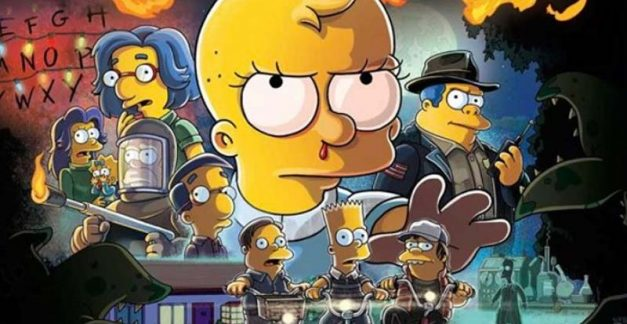 Prepare for Stranger Things from The Simpsons