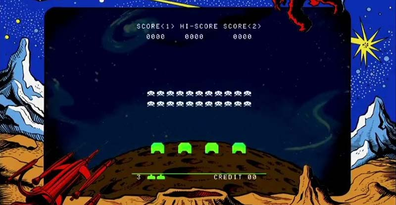 BOMP! BOMP ! BOMP! Space Invaders movie still a thing