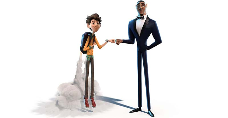 Will Smith's more than a smidgen pigeon in Spies in Disguise