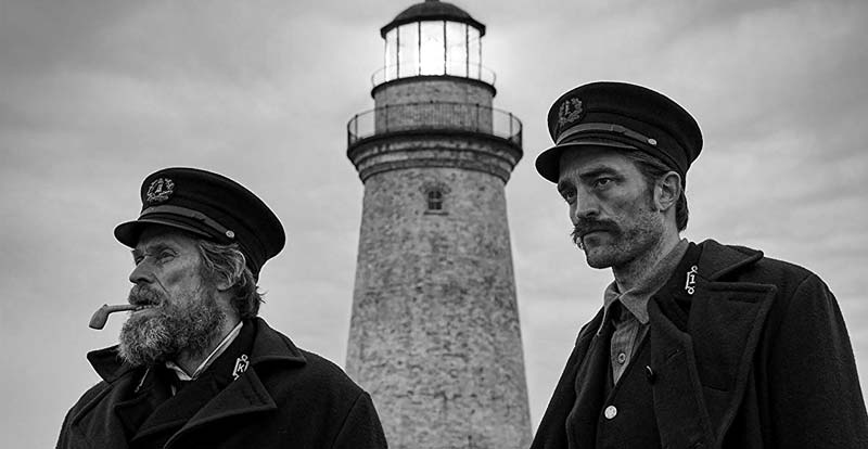 Arrrr! Dafoe and Pattinson in The Lighthouse