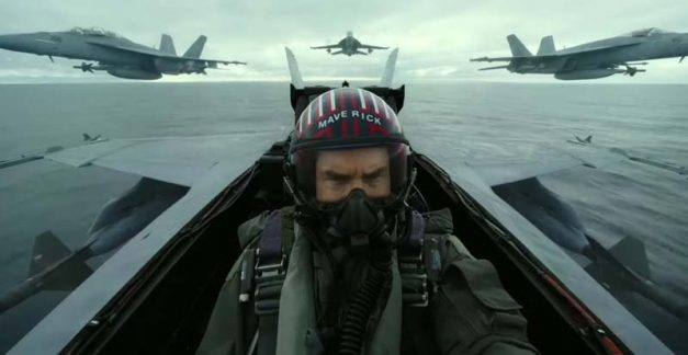Top Gun: Maverick swoops in
