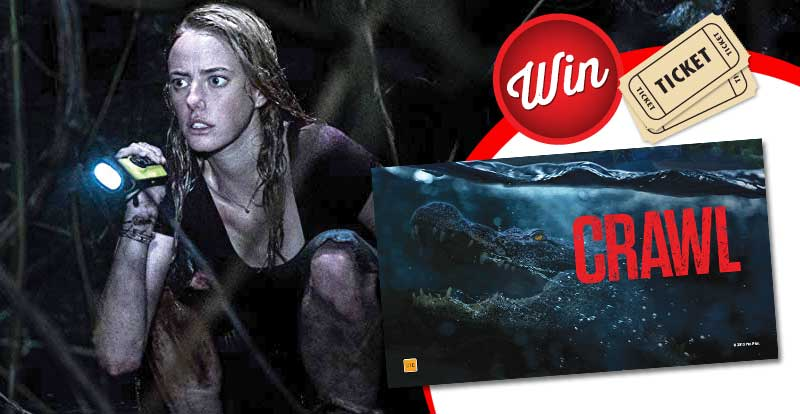 Win movie tickets to see Crawl