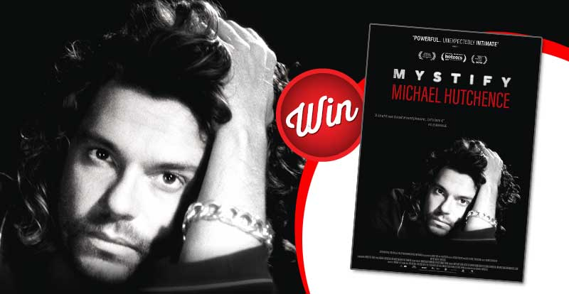 Win movie tickets to see Mystify: Michael Hutchence