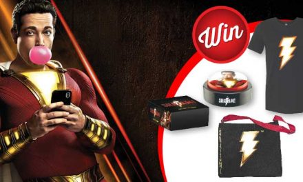 Win one of three 'Shazam!' merch packs
