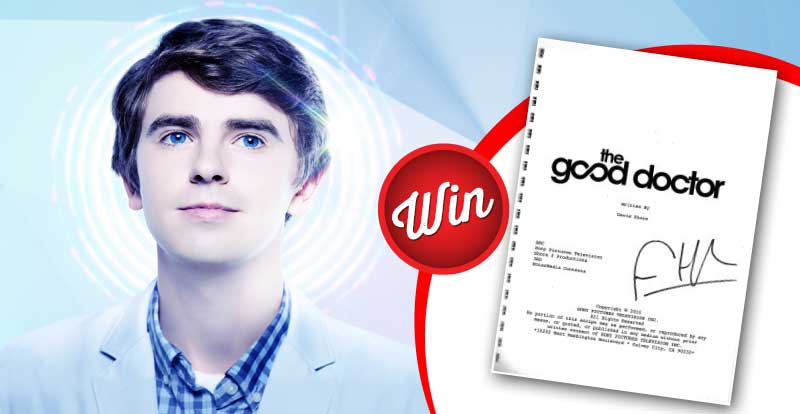Win a signed script from The Good Doctor Season 2