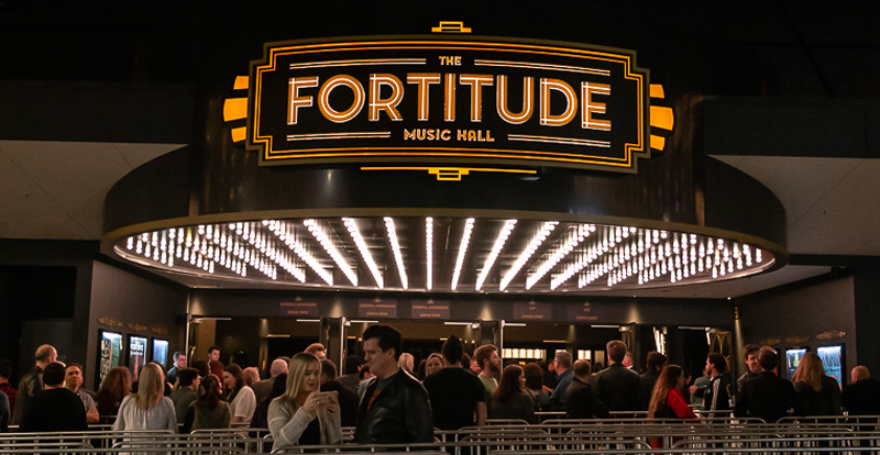 fortitude music hall