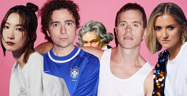 The 'Beethoven' Appreciation Society, with The Presets