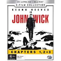 4K September 2019 - John Wick: Chapters 1, 2 & 3
