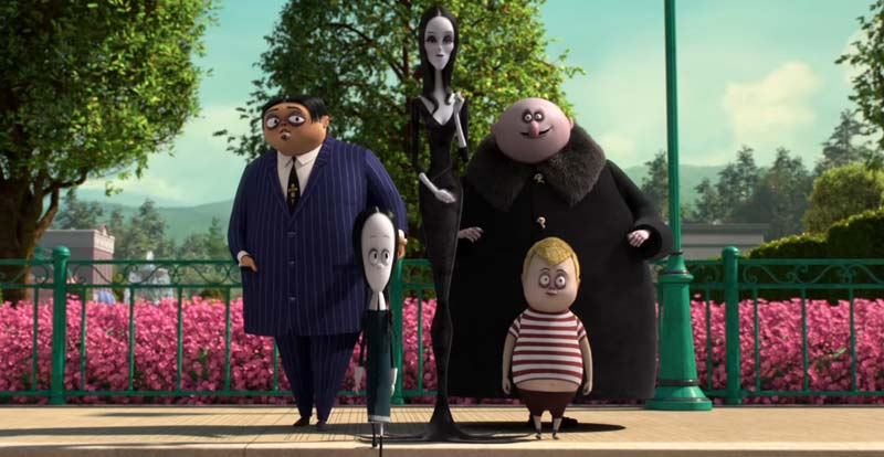Click! Click! It's The Addams Family