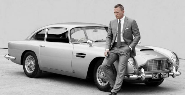 Filming 007's Aston Martin for No Time to Die