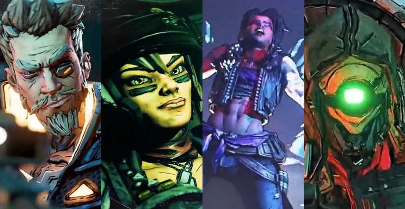 Meet the Borderlands 3 Vault Hunters