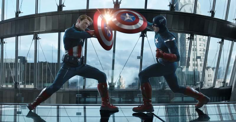 Making Captain America vs Captain America