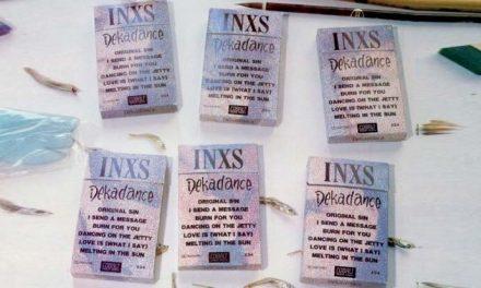 INXS Dekadance hitting vinyl