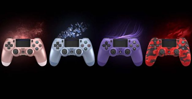 Colour your world with 4 new PS4 DualShock hues