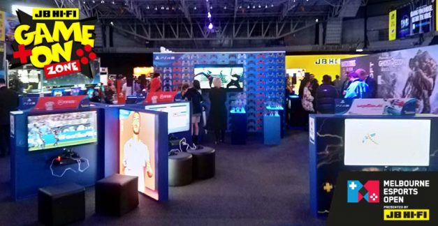 Enter the JB Hi-Fi Game On Zone at the MEO
