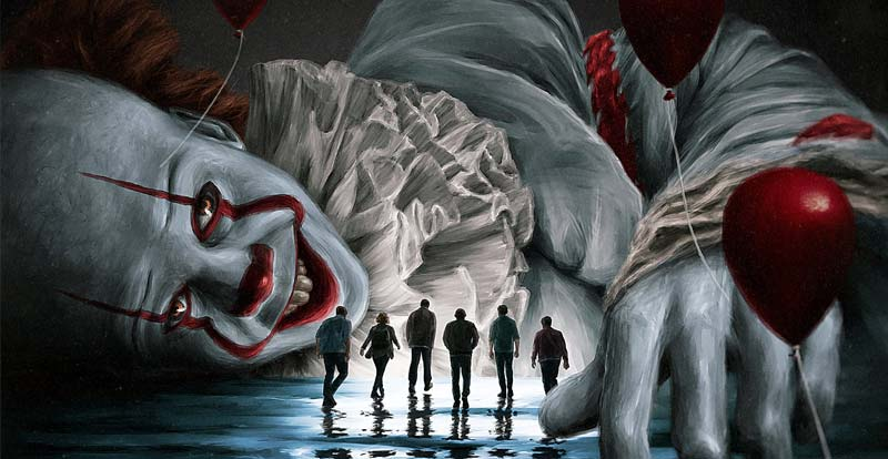 You're It! It Chapter Two poster comp winners