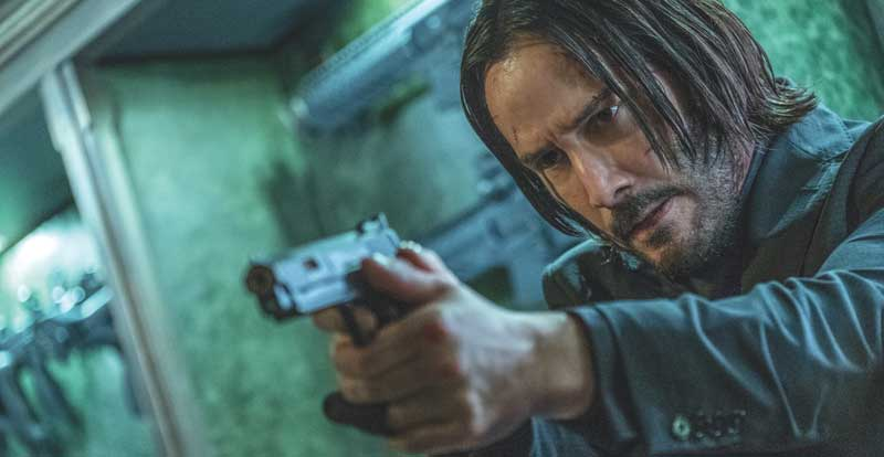 John Wick: Chapter 3 –  Parabellum on DVD & Blu-ray & 4K September 18