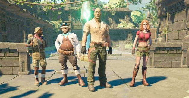 Jumanji: The Video Game – gameplay of the game of the movie of the game