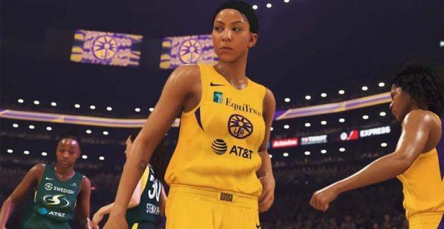 Introducing the WNBA in NBA 2K20